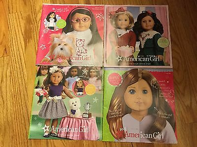 A Lot Of Four American Girl Magazine Catalog