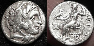 MRTWN Philip III, Silver drachm 323-319 BC, Head of Herakles, Zeus For Alexander