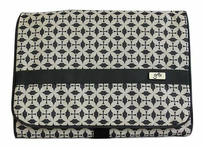New gr8x - Change Wallet Avalon Damask Grey Free Express Shipping