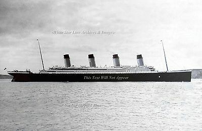 Poster Print: 24 x 36 Titanic's Final Port Of Call: Queenstown, April 11th, 1912