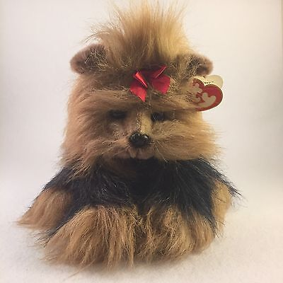 TY Classic YAPPY THE YORKIE Yorkshire Terrier 1997 Retired NWT (C1)