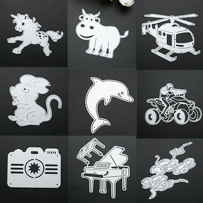 Metal Cutting Dies Stencil Scrapbook Paper Cards Craft Embossing DIY Die Cut Hot