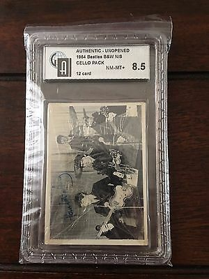 Vintage 1964 The Beatles 2nd Series B&W Cello Graded Near Mint - Mint+ Offers OK