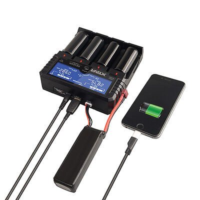 Xtar Dragon VP4 Plus Li-ion/Ni-MH/Ni-CD/IMR/INR/ICR/11.1V/3s Charger