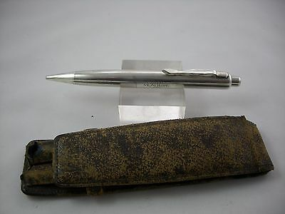 Montblanc N730  Sterling Silver Mechanical Pencil In Original Case  1930-1947'
