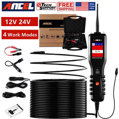 Ancel PB100 Power Scan Circuit Probe Test Electrical Diagnostic DC AC Resistance