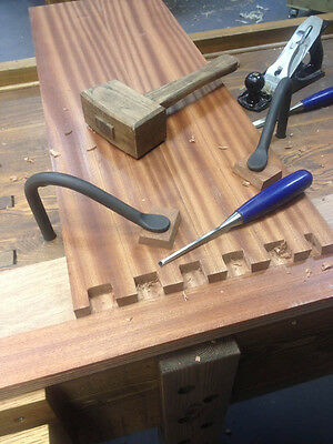 Hold Fast Hold Downs Blacksmith made PAIR for Workbench Wood 18mm READ BELOW!!