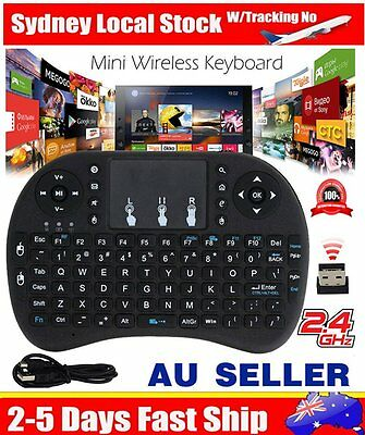 Rii mini i8 2.4GHz Wireless Keyboard with Touchpad for smart TV PC android SNKU