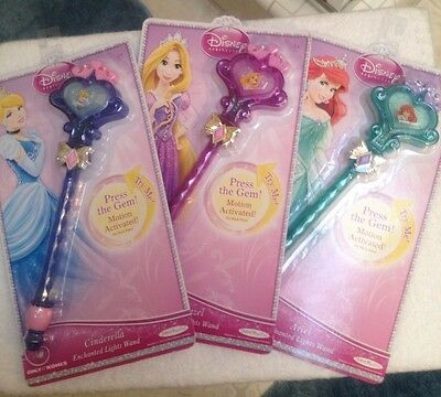 New Disney Princess Enchanted Lights Wand