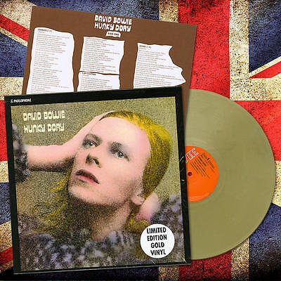 David Bowie - Hunky Dory - Limited Gold Edt. - Lp Nuovo Sigillato