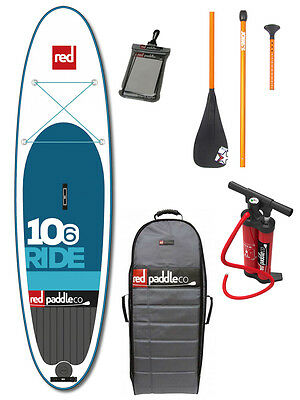 "Red Paddle Ride 10'6"" iSUP Set 2016"