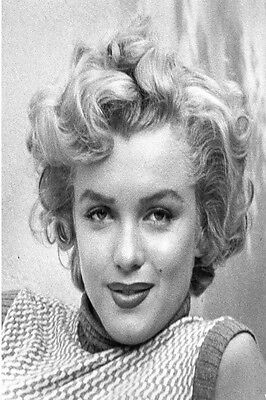 "Marilyn Monroe Elvis  portrait  Vintage Print Poster  New  York 36/"" x 24/"" photo"