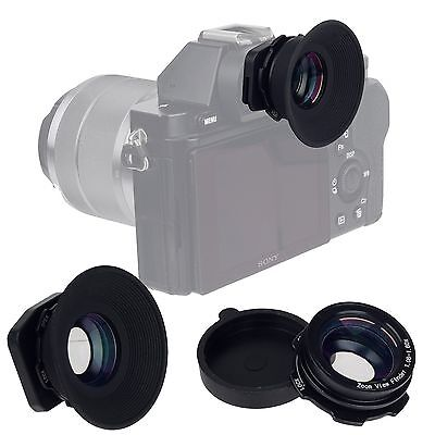 1.08x-1.60x Zoom Viewfinder Eyepiece Magnifier for Nikon D750 D90 Canon 5D Sony