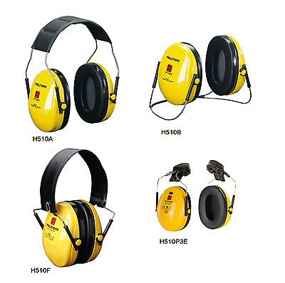 3M PELTOR Optime l Premium Quality Ear Defenders - H510A H510B H510F H510P3E