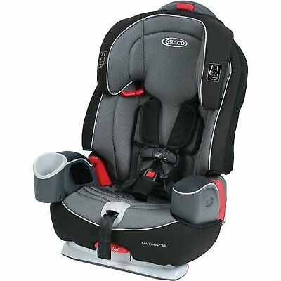 Graco Nautilus 65 3-in-1 Multi-Use Harness Baby Toddler Booster Car Seat, Bravo