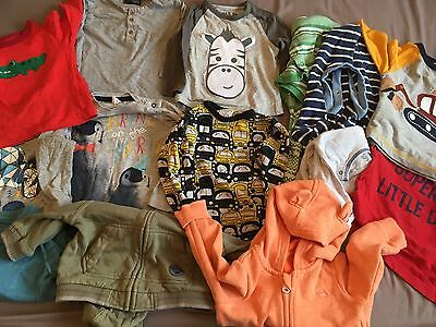 Baby Boy 6-9 Months 14 Item Bundle Next H&M Mothercare T Shirt Hoodie
