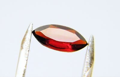 Garnet Natural Red Colour 8mm x 4mm Marquise Cut Single Stone