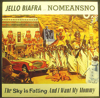 LP Jello Biafra with NOMEANSNO - The Sky Is Falling and I Want My Mommy