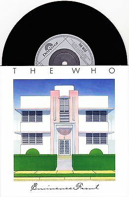 """The Who - Eminence Front / It's Your Turn - Rare 7"""" EU Vinyl 45 - New & Unplayed"""