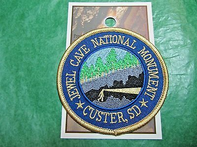 Jewel Cave National Monument Custer  South Dakota Embroidered Souvenir Patch-P38