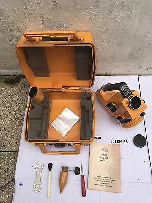 Vintage Carl Zeiss JENA ZEISS NI 020 A Automatic Level  Case & Manual *REDUCED*