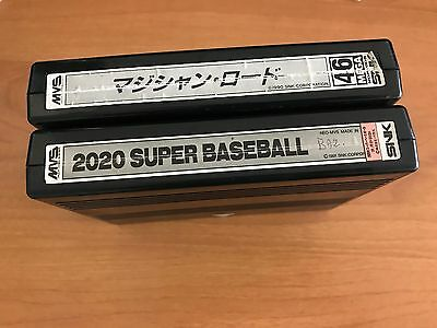 Neo Geo Magician Lord Japan - 2020 Super Baseball MVS with error graphic