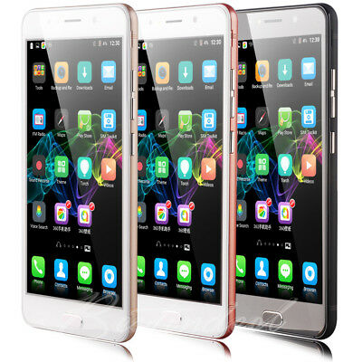 "Cheap 6"" Inch Unlocked Android5.1 Smart Mobile Phone 4Core Dual SIM 3G GSM 4GB"