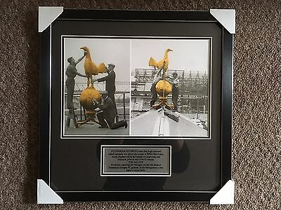 Tottenham Hotspur 1934/1935 Framed Photo With Plaque Bnwt