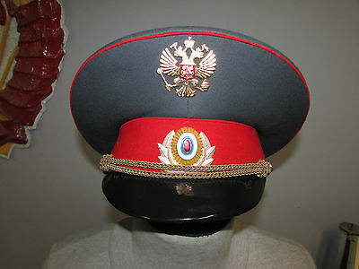 Russian soviet cap hat officier police badge cap uniform military original