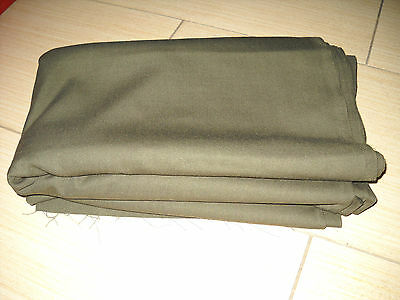 Russian army color olive piece of fabric wool 50% of for tailoring daily uniform