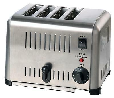 Cater-Cook Commercial 4 Slot Toaster - CK0079