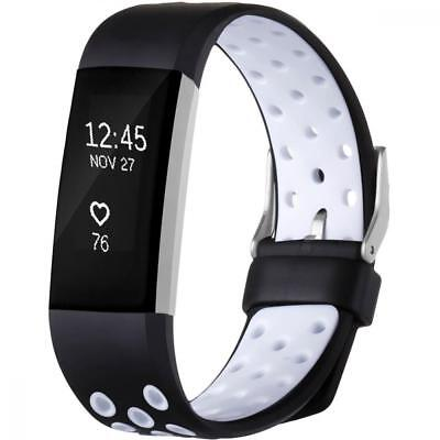 Buckle Band Fitbit Charge 2 Heart Rate Replacement Fitness Accessory Wristband