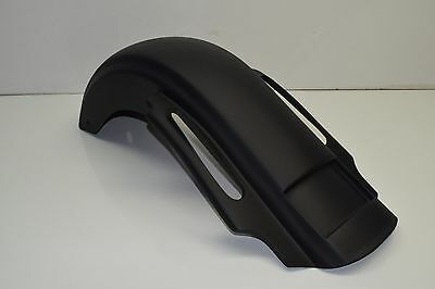 """09-13 Harley Davidson Stretched Cvo Style 4"""" Extended Rear Fender Touring Bagger"""