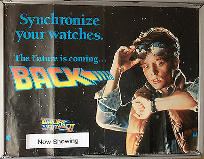 Cinema Poster: BACK TO THE FUTURE PART II 1989 (Advance Quad)  Michael J. Fox