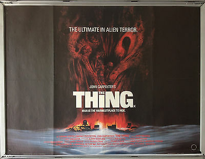 Cinema Poster: THING, THE 1982 (Quad) Kurt Russell John Carpenter