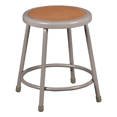 """Learniture NOR-TY-538-18 Steel Stool with Hardboard Seat, 18"""" Height, 16 1/2 at"""