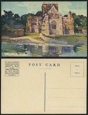 Ireland County Co. TIPPERARY - HOLY CROSS ABBEY Old Art Artist Drawn Postcard