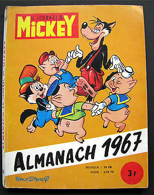 Journal de MICKEY Almanach 1967