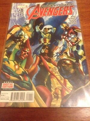 All-new All-different Avengers #1 (Marvel, 2015, First Print)