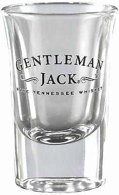 Jack Daniel's Gentleman Jack Shot Glass, Licensed Barware, Made in USA