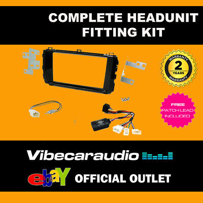 Connects2 CTKTY08 Toyota Auris 2013 - 2016 Complete Double Din Installation Kit