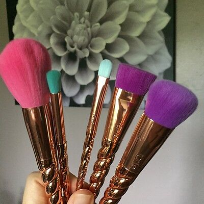similar to tarte magic wand brush set 5 pcs brand new unused rose gold BN