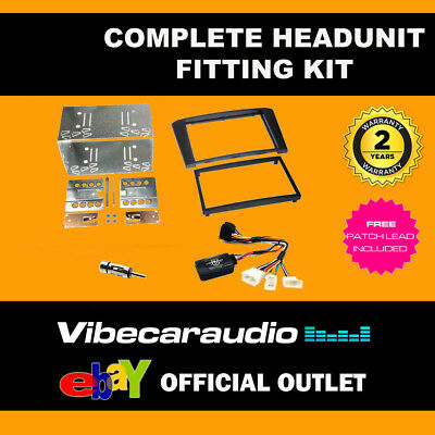 Connects2 CTKTY12 Toyota Avensis 2003> 2008 Double Din Radio Installation Kit