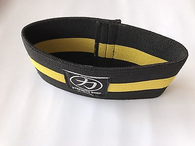 "Strength Shop Compression Cuff 13"" - Yellow/Black"