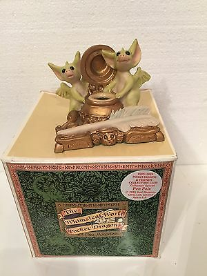 Pen Pals MIB. Whimsical World Of Pocket Dragons
