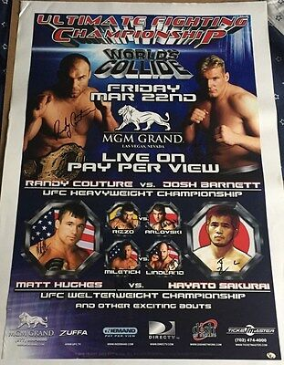 UFC 36 Poster - Signed by full card