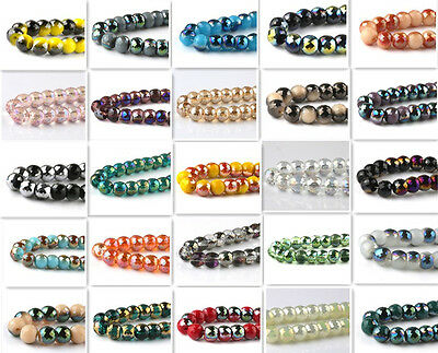 wholesale 8pcs 8mm 128 faces drum type Swarovskii crystal bead DIY