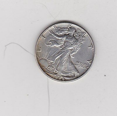 Usa 1944 Silver Half Dollar In Good Very Fine Condition