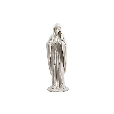 Design Toscano Blessed Virgin Mary Statue White