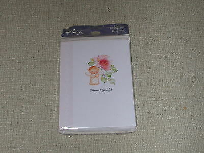 Sealed Package Of Mary Hamilton Thank You Cards- Hallmark 16 Cards /envelopes